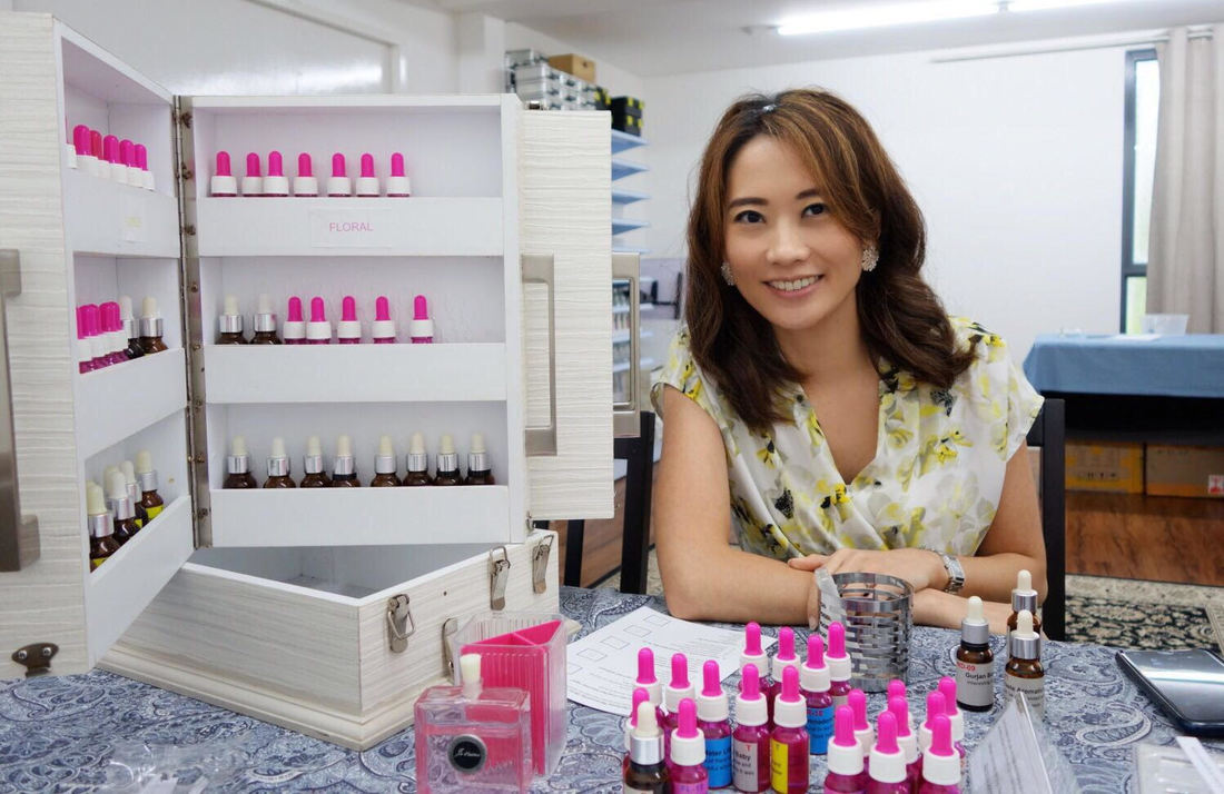 Beginners perfume workshop for individual tourist and Singaporean looking for a weekend activity