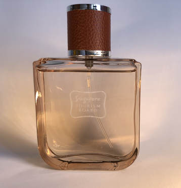 Logo engraved Perfume orchid Premium customised corporate gift singapore sg for your special clients