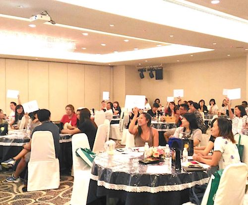 perfume event team building bonding MBTI Perfume personality aromatherapy team building  type perfume workshop singapore team building program